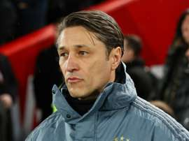 Kovac not celebrating after holding Liverpool. Goal