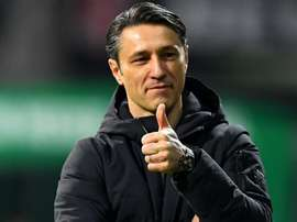 Kovac gives thumbs up after a convincing Bayern performance. GOAL