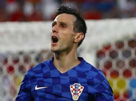 Kalinic turned down a medal. GOAL