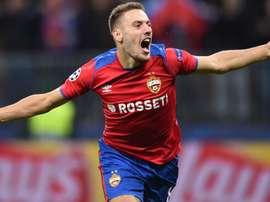 CSKA hero Vlasic happy in Moscow