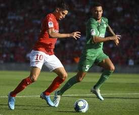 Nîmes - Saint-Etienne (0-1) - Les Verts respirent un peu. AFP