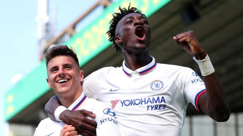 Première victoire de la saison pour Lampard et les Blues. Goal