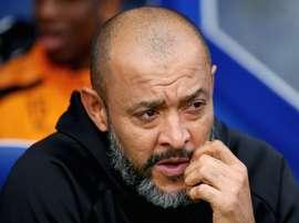Everton reportedly want Nuno Espirito Santo to become their new manager. AFP