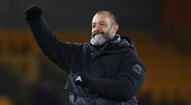 Nuno delighted with Wolves' Europa League efforts. AFP