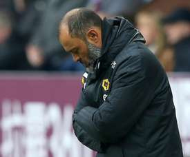 Santo was dispirited after his side's defeat. GOAL
