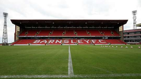 The game at Oakwell was called off due to a 'medical emergency'. GOAL