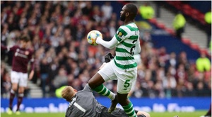 Celtic win historic treble-treble. Goal