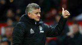 Solskjaer says Man Utd's transfer business is going very well. GOAL