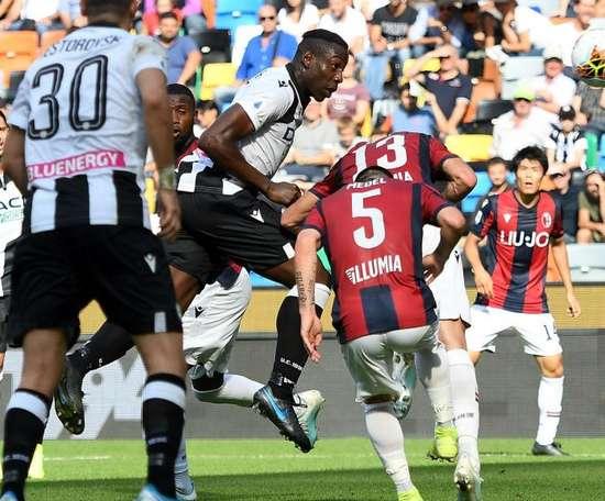 Le formazioni ufficiali di Bologna-Udinese. Goal