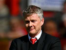Solskjaer again calls for patience