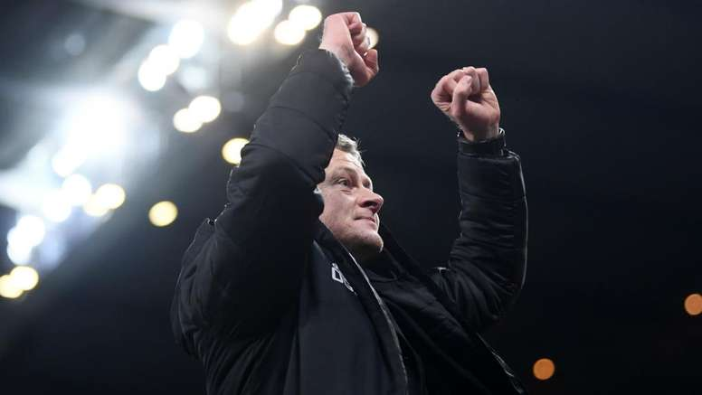 Solskjaer never doubted ability to manage Man Utd. AFP