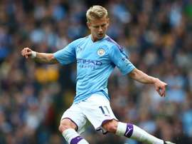 Manchester City's Zinchenko hit by knee injury. GOAL