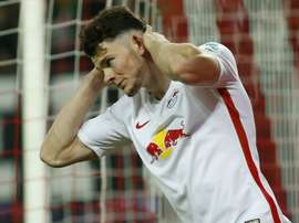 Oliver Burke will not be allowed to leave RB Leipzig in the transfer window. GOAL
