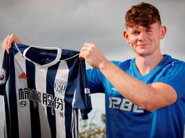 Burke has joined Premier League side West Brom. AFP