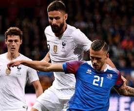 La France a évité une défaite humiliante de justesse. Goal