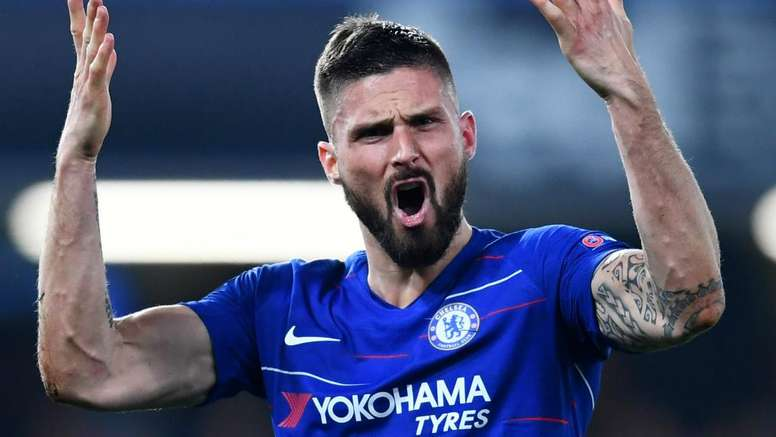 Giroud, un futur à Chelsea avec une prolongation ? AFP