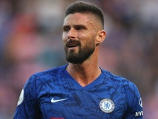 Giroud left out of Chelsea squad. GOAL