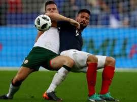 Les réactions après France-Eire. Goal