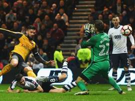 Olivier Giroud Preston North End FC Arsenal FA Cup 07012017