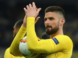 Giroud has been a standout in the Europa League this season. GOAL
