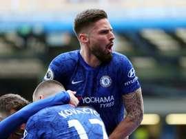 Giroud scored as Chelsea won 2-1. GOAL
