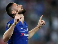 Giroud 'agradece' ao Arsenal em meio a comemorações do Chelsea. Goal