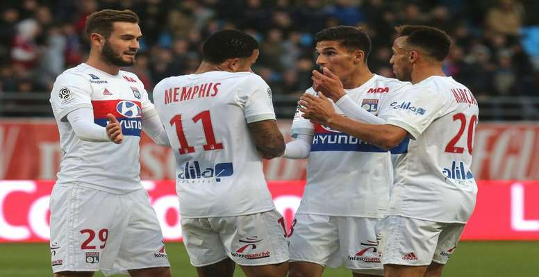 Les Gones affrontent Caen. Goal