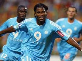 Drogba demorou para fazer sucesso. Goal