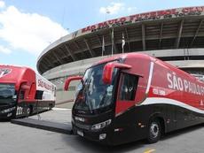Ônibus do São Paulo é apedrejado a caminho do Morumbi. EFE