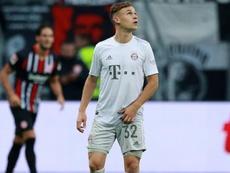 Un Bayern méconnaissable s'écroule à Francfort (1-5). AFP