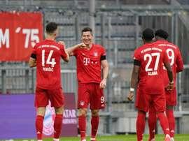 Le Bayern assure le spectacle face à l'Eintracht. Goal