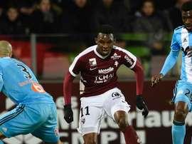 Pourquoi Nguette a prolongé à Metz. AFP
