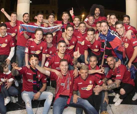 Osasuna qualifies for La Liga. GOAL