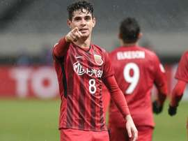 Oscar scored twice in a 4-1 win. AFP