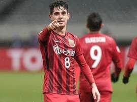 Oscar scored twice in a 4-1 win. AFP