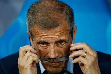Tabarez buoyed by inexperienced Uruguay.