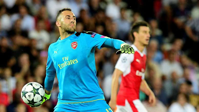 Ospina has started every one of Arsenal's Champions League games. Goal
