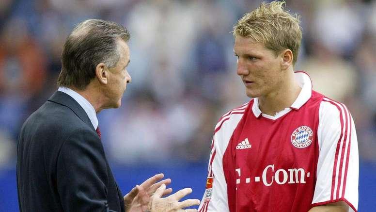 Allemagne - Le vibrant hommage d'Ottmar Hitzfeld à Bastian Schweinsteiger. AFP