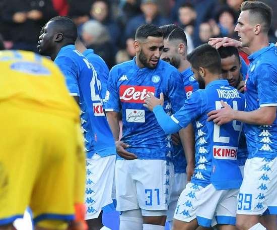 Naples prévient Liverpool aussi. Goal