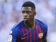 Ousmane Dembele Barcelona 2018. Goal