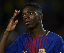 Dembélé não teve chances de se mostrar no Barça. Goal