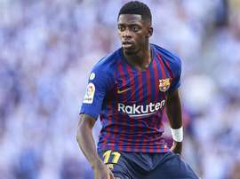 Ousmane Dembele FC Barcelona 2018. Goal