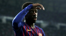Ousmane Dembele is fit to face United in the Champions League. GOAL