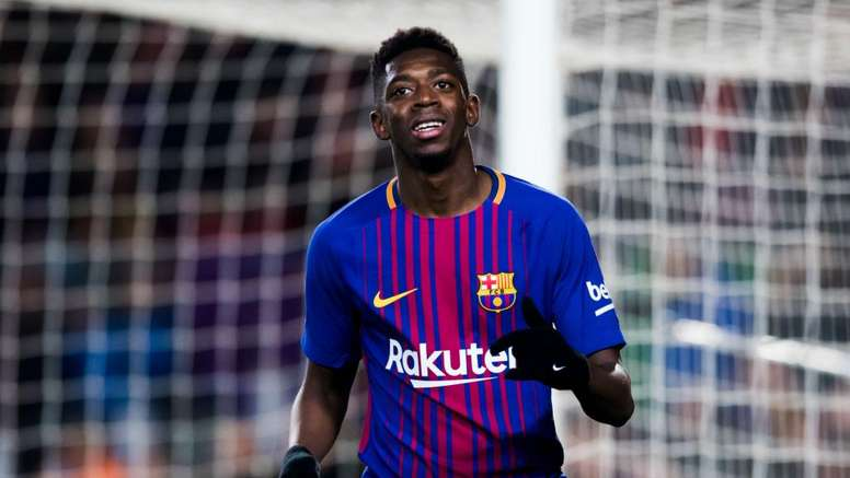 Dembele has been given an opportunity to shine. GOAL