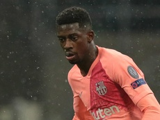 Dembele has divided opinion in Barcelona. AFP