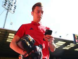 Ozil is back for Arsenal against Watford. GOAL