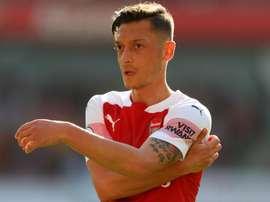 Ozil has missed Arsenal's last few games. GOAL