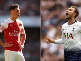 Ozil does not compare well with Eriksen. GOAL