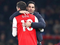 Ozil surprised by Arteta arrival
