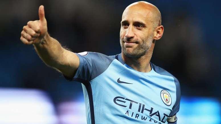 Pablo Zabaleta retires. goal_en